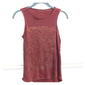 XS Lucky Brand sleeveless top